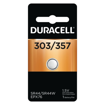 Picture of DURACELL WATCH BATTERY - SILVER OXIDE D303/357 1S