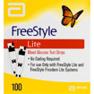 Picture of FREESTYLE LITE TEST STRIPS 100S