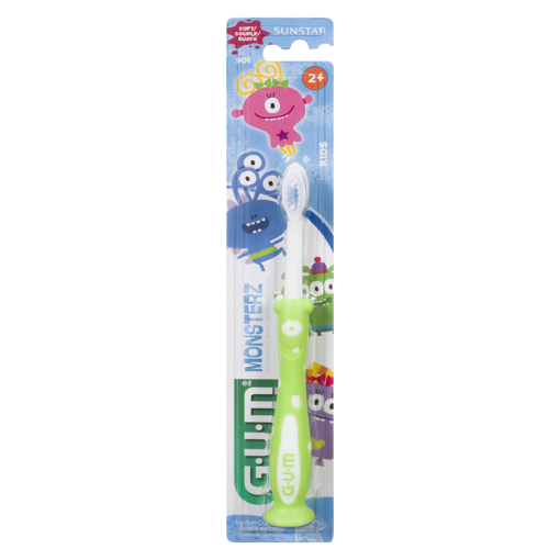 Picture of GUM TOOTHBRUSH - MONSTERZ KIDS 2+