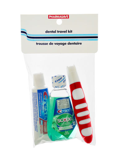 Picture of PHARMASAVE DENTAL TRAVEL PACK 3PC