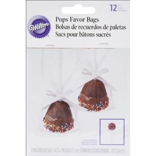 Picture of WILTON POPS FAVOR BAGS 12S