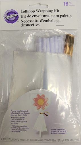 Picture of WILTON LOLLIPOP WRAPPING KIT 18S