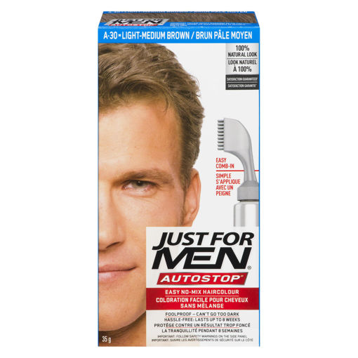 Picture of JUST FOR MEN AUTO STOP - LIGHT MEDIUM BROWN