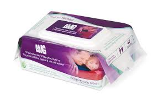 Picture of AMG MEDICAL PERSONAL WASHCLOTHS 48S