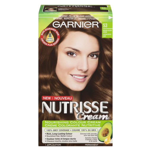 Picture of GARNIER NUTRISSE HAIR COLOUR - CHESTNUT #53