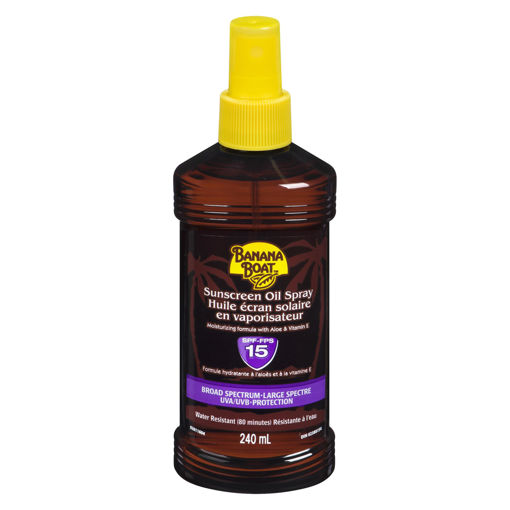 Picture of BANANA BOAT PROTECTIVE TANNING OIL SPF15 240ML