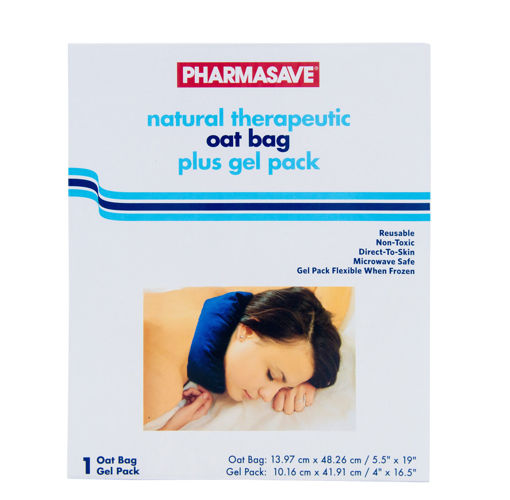 Picture of PHARMASAVE THERAPEUTIC OAT BAG PLUS GEL PACK