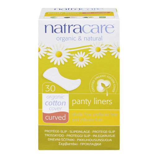 Picture of NATRACARE CURVED PANTY LINERS 30S
