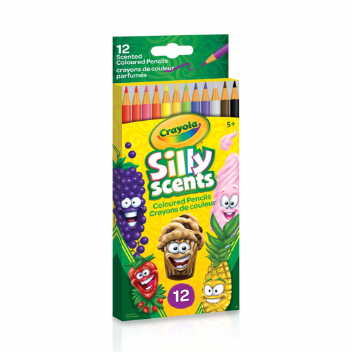 Picture of CRAYOLA SILLY SCENTS COLOURED PENCILS 12S