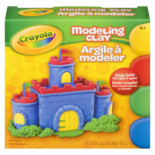 Picture of CRAYOLA MODELING CLAY - 4 COLOURS