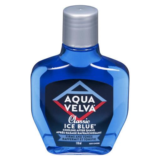 Picture of AQUA VELVA CLASSIC ICE BLUE AFTERSHAVE 118ML