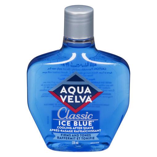 Picture of AQUA VELVA CLASSIC ICE BLUE AFTERSHAVE 235ML