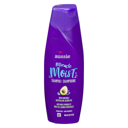 Picture of AUSSIE MIRACLE MOIST SHAMPOO 360ML