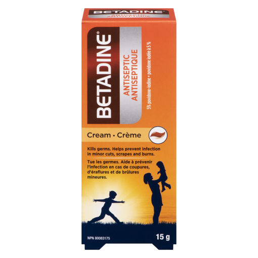 Picture of BETADINE ANTISEPTIC 5% WOUND CREAM 15GR