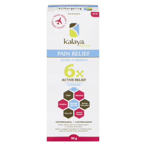 Picture of KALAYA NATURALS 6X PAIN RELIEF TRAVEL SIZE 50GR