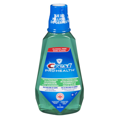 Picture of CREST PRO-HEALTH MULTI-PROTECTION MOUTH RINSE - COOL WINTERGREEN RINSE 1LT