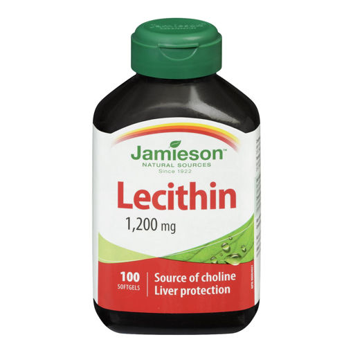 Picture of JAMIESON LECITHIN SOFTGEL 1200MG CAPSULE 100S