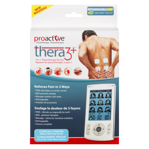 Picture of PROACTIVE TENS THERA3 - 3-IN-1 TENS & EMS & MASSAGE