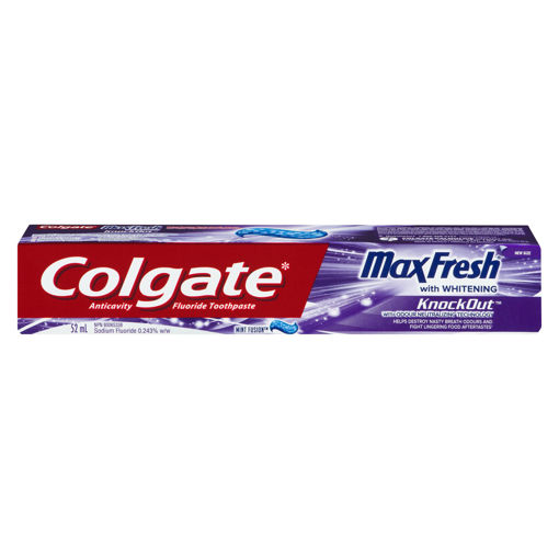 Picture of COLGATE MAX FRESH TOOTHPASTE - KNOCKOUT 52ML