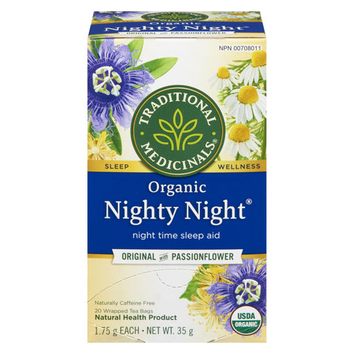 Picture of TRADITIONAL MEDICINALS ORGANIC TEA - NIGHTY NIGHT 20S