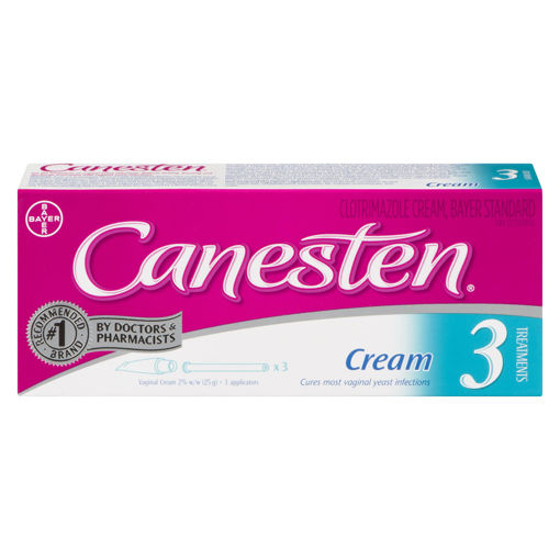 Picture of CANESTEN 3-DAY VAGINAL CREAM 2% 25GR