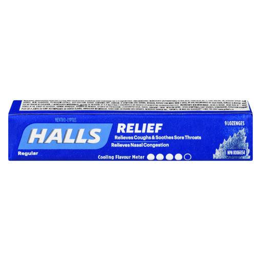 Picture of HALLS LOZENGE - REGULAR 9S