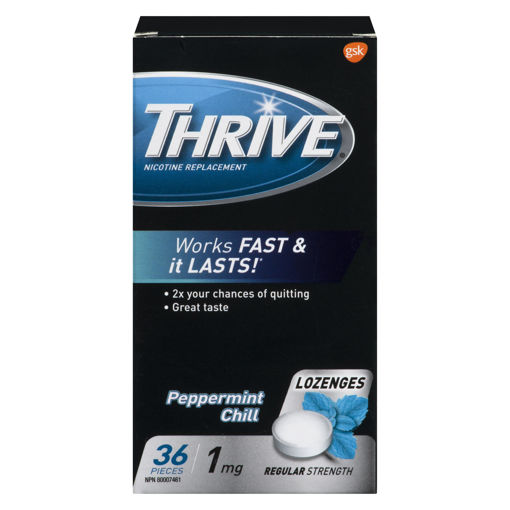 Picture of THRIVE LOZENGE - MINT 1MG 36S