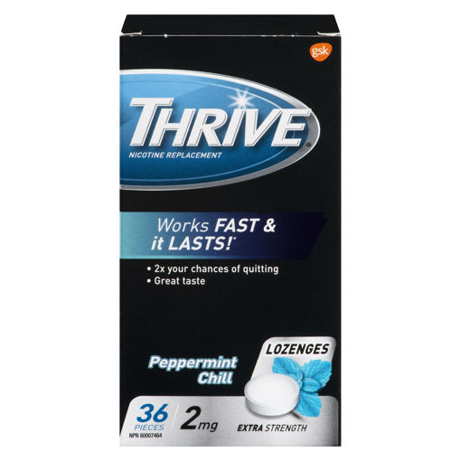Picture of THRIVE LOZENGE - MINT 2MG 36S
