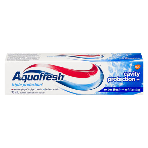 Picture of AQUAFRESH TOOTHPASTE - CAVITY PROTECTION - EXTRA FRESH 90ML