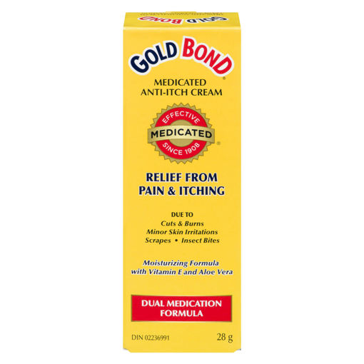 Picture of GOLD BOND ANTI-ITCH CREAM 28GR