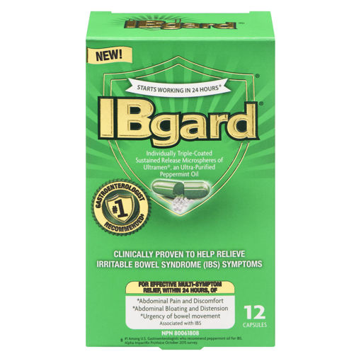 Picture of IBGARD 90MG CAPSULES 12S