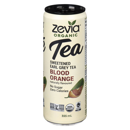 Picture of ZEVIA EARL GREY TEA - BLOOD ORANGE 355ML