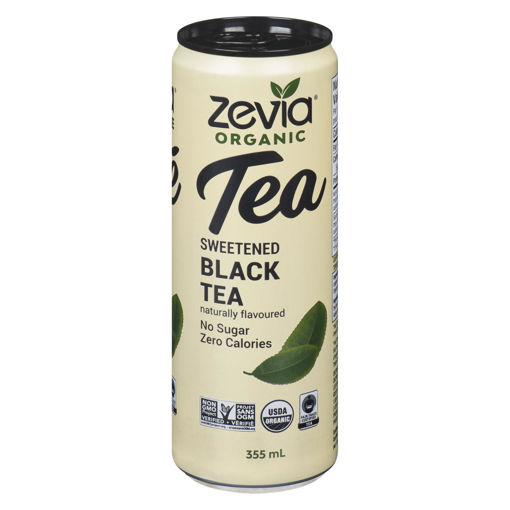 Picture of ZEVIA TEA BLACK 355ML