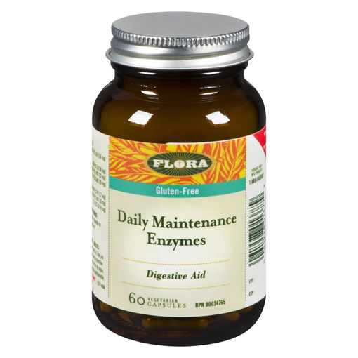 Picture of FLORA DAILY MAINTENANCE ENZYMES 60S