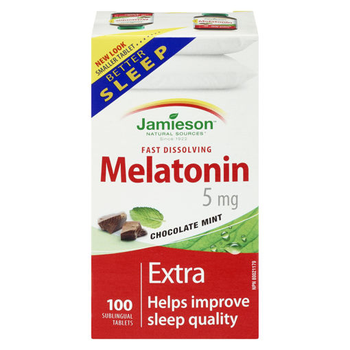 Picture of JAMIESON MELATONIN 5MG - FAST DISSOLVING 100S