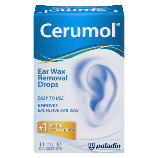Picture of CERUMOL EAR WAX REMOVER DROPS 11ML