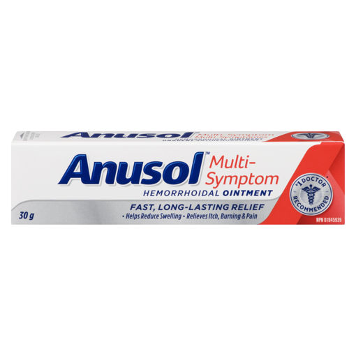 Picture of ANUSOL REGULAR OINTMENT 5% 30GR