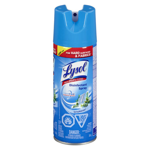 Picture of LYSOL DISINFECTANT SPRAY - SPRING WATERFALL 350GR