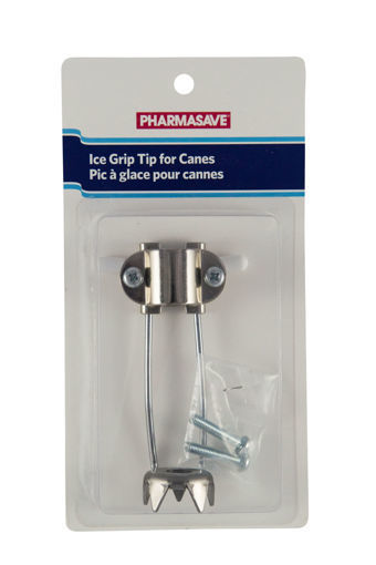 Picture of PHARMASAVE CANE TIP - ICE GRIP