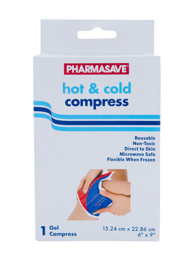 Picture of PHARMASAVE HOT & COLD COMPRESS 6X9