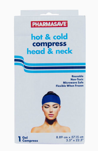 Picture of PHARMASAVE HOT & COLD COMPRESS - HEAD & NECK - LONG