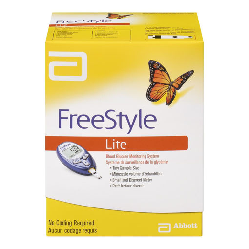 Picture of FREESTYLE LITE BLOOD GLUCOSE METER