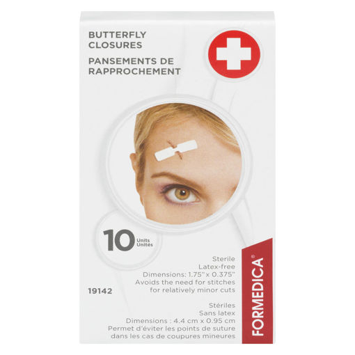 Picture of FORMEDICA BUTTERFLY CLOSURE - MEDIUM  10S