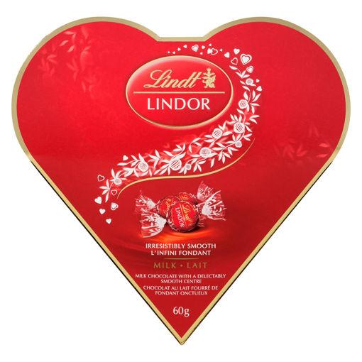 Picture of LINDT LINDOR VALENTINE FRIENDSHIP HEART - MILK 60GR