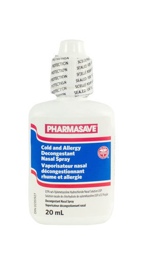 Picture of PHARMASAVE COLD AND ALLERGY DECONGESTANT NASAL SPRAY  20ML