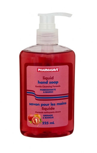 Picture of PHARMASAVE HAND SOAP PUMP - POMEGRANATE MANGO 225ML