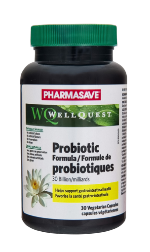 Picture of PHARMASAVE WELLQUEST PROBIOTIC - 30 BILLION VEGETARIAN CAPSULES 30S