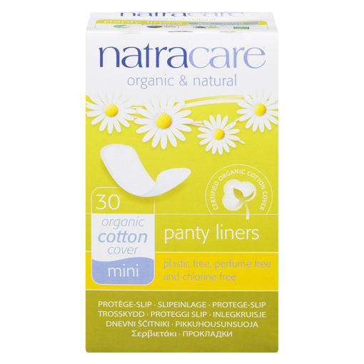 Picture of NATRACARE MINI PANTY LINER 30S