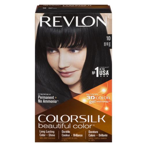 Picture of REVLON COLORSILK HAIR COLOUR - BLACK 10