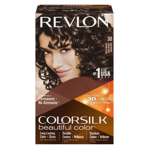 Picture of REVLON COLORSILK HAIR COLOUR - DARK BROWN 30